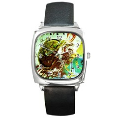 Doves Matchmaking 8 Square Metal Watch