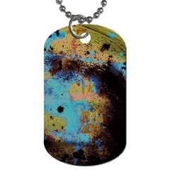 Blue Options 5 Dog Tag (two Sides)