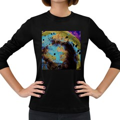 Blue Options 5 Women s Long Sleeve Dark T Shirts
