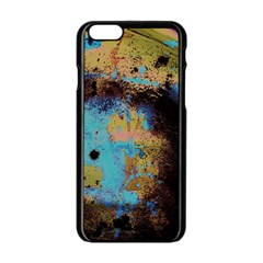 Blue Options 5 Apple Iphone 6/6s Black Enamel Case