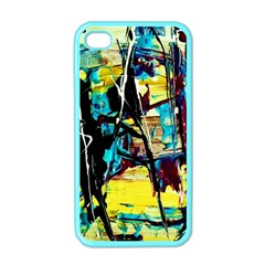Dance Of Oil Towers 3 Apple Iphone 4 Case (color)