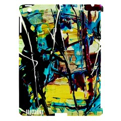 Dance Of Oil Towers 3 Apple Ipad 3/4 Hardshell Case (compatible With Smart Cover)