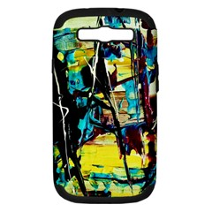 Dance Of Oil Towers 3 Samsung Galaxy S Iii Hardshell Case (pc+silicone)