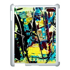 Dance Of Oil Towers 3 Apple Ipad 3/4 Case (white)