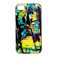 Dance Of Oil Towers 3 Apple Iphone 4/4s Hardshell Case With Stand