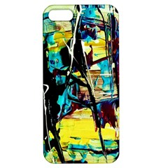 Dance Of Oil Towers 3 Apple Iphone 5 Hardshell Case With Stand