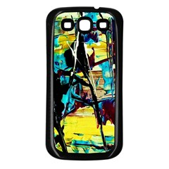 Dance Of Oil Towers 3 Samsung Galaxy S3 Back Case (black)