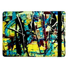 Dance Of Oil Towers 3 Samsung Galaxy Tab Pro 12 2  Flip Case