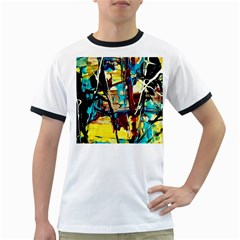 Dance Of Oil Towers 4 Ringer T Shirts