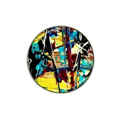 Dance Of Oil Towers 4 Hat Clip Ball Marker