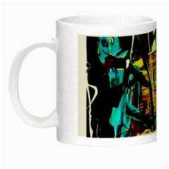 Dance Of Oil Towers 4 Night Luminous Mugs