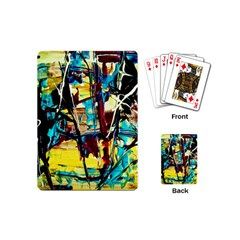 Dance Of Oil Towers 4 Playing Cards (mini)
