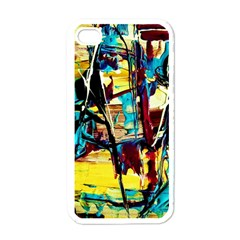 Dance Of Oil Towers 4 Apple Iphone 4 Case (white)