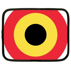 Roundel Of Belgian Air Force Netbook Case (xl)  by abbeyz71