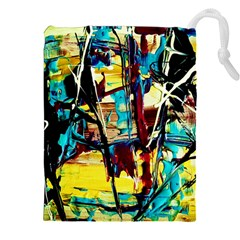 Dance Of Oil Towers 4 Drawstring Pouches (xxl)