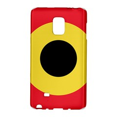 Roundel Of Belgian Air Force Galaxy Note Edge by abbeyz71