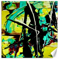 Dance Of Oil Towers 5 Canvas 20  X 20