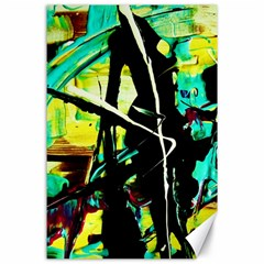 Dance Of Oil Towers 5 Canvas 24  X 36