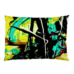 Dance Of Oil Towers 5 Pillow Case