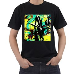 Dance Of Oil Towers 5 Men s T Shirt (black)