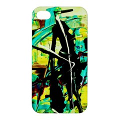 Dance Of Oil Towers 5 Apple Iphone 4/4s Hardshell Case