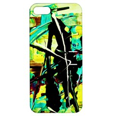 Dance Of Oil Towers 5 Apple Iphone 5 Hardshell Case With Stand