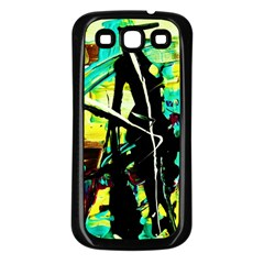 Dance Of Oil Towers 5 Samsung Galaxy S3 Back Case (black)