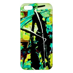 Dance Of Oil Towers 5 Iphone 5s/ Se Premium Hardshell Case