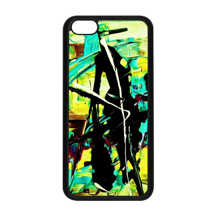 Dance Of Oil Towers 5 Apple iPhone 5C Seamless Case (Black)