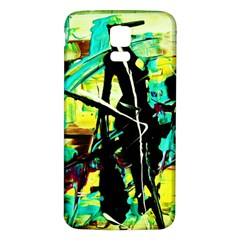 Dance Of Oil Towers 5 Samsung Galaxy S5 Back Case (white)