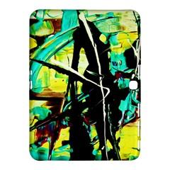 Dance Of Oil Towers 5 Samsung Galaxy Tab 4 (10 1 ) Hardshell Case