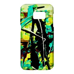 Dance Of Oil Towers 5 Samsung Galaxy S7 Hardshell Case