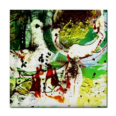 Doves Matchmaking 12 Tile Coasters