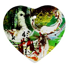 Doves Matchmaking 12 Ornament (heart)