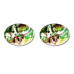 Doves Matchmaking 12 Cufflinks (oval)