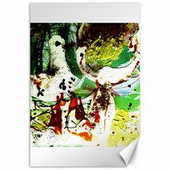 Doves Matchmaking 12 Canvas 24  X 36  by bestdesignintheworld