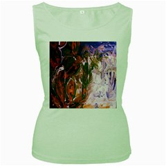 Close To Pinky,s House 12 Women s Green Tank Top