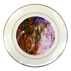 Close To Pinky,s House 12 Porcelain Plates