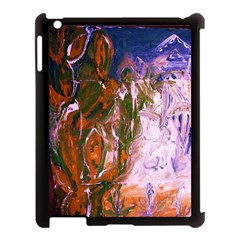 Close To Pinky,s House 12 Apple Ipad 3/4 Case (black)