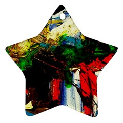 Catalina Island Not So Far 6 Star Ornament (Two Sides)