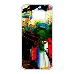 Catalina Island Not So Far 6 Samsung Galaxy S7 Edge White Seamless Case by bestdesignintheworld