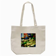 Catalina Island Not So Far 4 Tote Bag (cream)