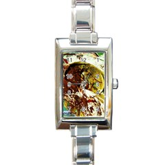 Doves Matchmaking 3 Rectangle Italian Charm Watch