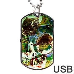 Doves Matchmaking 1 Dog Tag Usb Flash (two Sides)