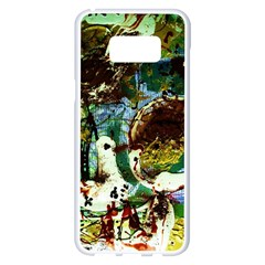Doves Matchmaking 1 Samsung Galaxy S8 Plus White Seamless Case