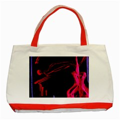 Calligraphy 4 Classic Tote Bag (red)