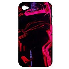 Calligraphy 4 Apple Iphone 4/4s Hardshell Case (pc+silicone)