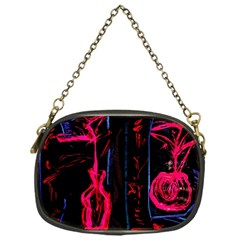 Calligraphy Chain Purses (one Side)