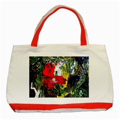 Bow Of Scorpio Before A Butterfly 2 Classic Tote Bag (red)