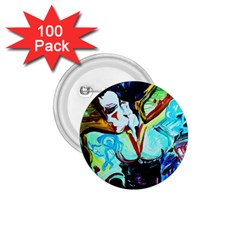 Woman Spirit 1 75  Buttons (100 Pack)